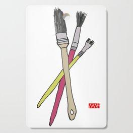 Brushes Cutting Board