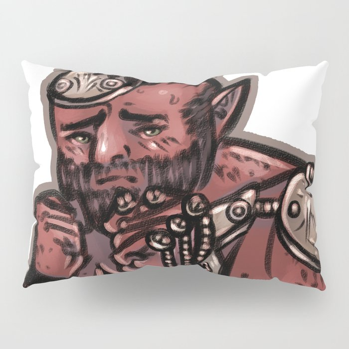 Shy Brawler Pillow Sham