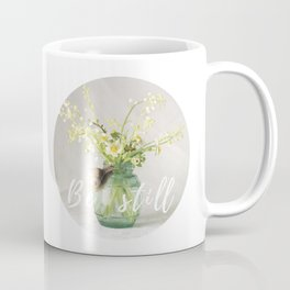 Spring bouquet with a snail - analog floral photography Coffee Mug