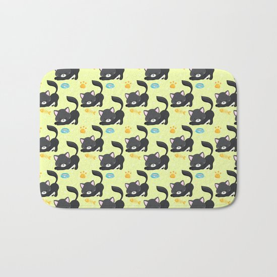 Cute Cat #2 Bath Mat