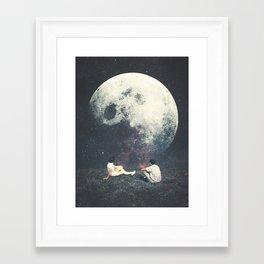 My Moon My Man My Love Framed Art Print