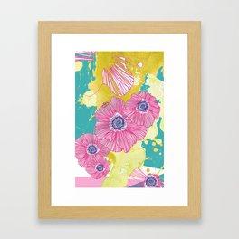 So long, petal. Framed Art Print