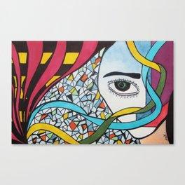 FIVE SENSES SERIE Canvas Print