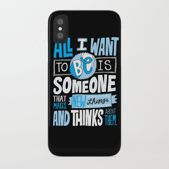 Making and Thinking iPhone Case