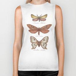 Forester Moth, Venus Moth & Spanish Moon Moth Biker Tank