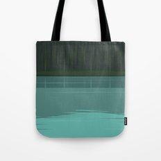 Minimal Lake Pines Tote Bag