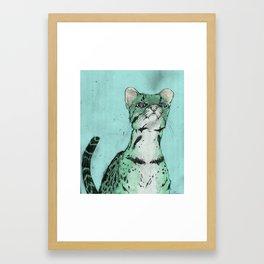 not a lot oclot Framed Art Print