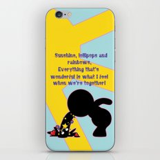 Sunshine Lollipops And Rainbows  iPhone & iPod Skin