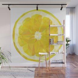 Lemon Slice Wall Mural