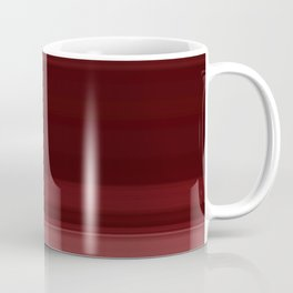 Ruby Red Ombre Stripe Design Coffee Mug