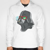 darth Hoodies featuring Darth by Octofly Art