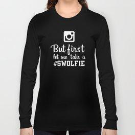 #swolfie Long Sleeve T-shirt