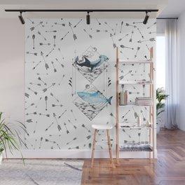 sharks & arrows Wall Mural