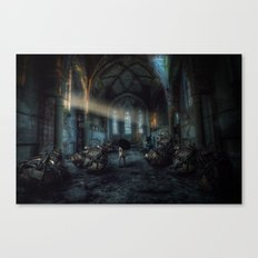 Over time Canvas Print