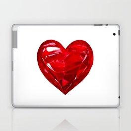 Garnet Heart Laptop & iPad Skin