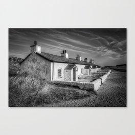 Pilot Cottages  Canvas Print