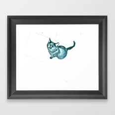 WHITEOUT : Bad Luck Framed Art Print