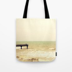 The pier is for fishing Tote Bag