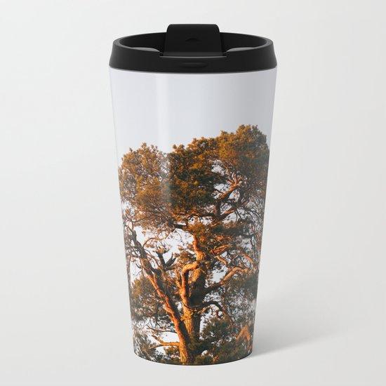 Half Tree Metal Travel Mug