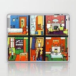 Vintage Doll House Laptop & iPad Skin