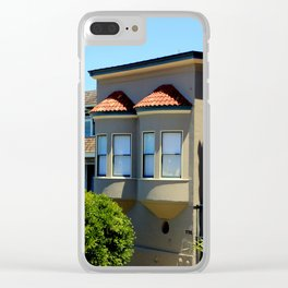 Two Halves Make A Whole Clear iPhone Case
