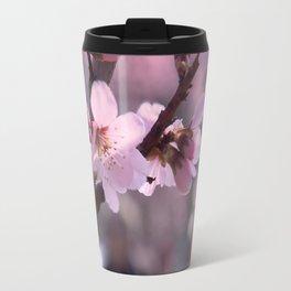 Pink spring time Travel Mug