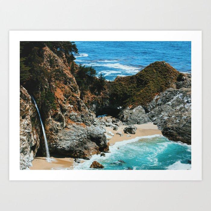 Paradise Beach: Paradise Beach 4 Art Print By Jsebouvi