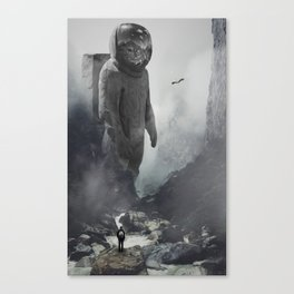 GOD Is An Astronaut by GEN Z Canvas Print