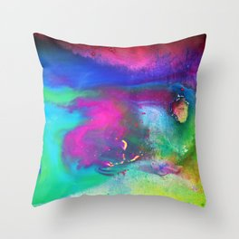 Energies of the Heart Throw Pillow