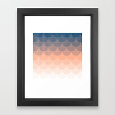 Abstract Clouds Framed Art Print