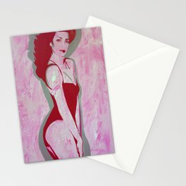 Bitchin' Body Roller Hottie Stationery Cards