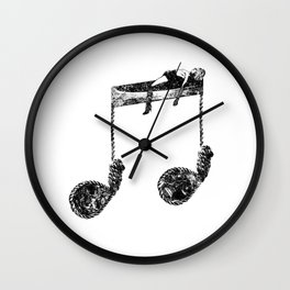 Death-Like Noises Wall Clock