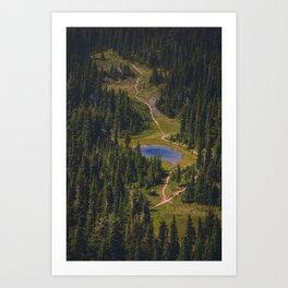 McNeil Point Art Print