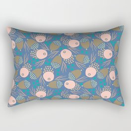 November Born - acorn pattern Rectangular Pillow