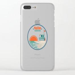 Malibu, California Clear iPhone Case