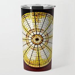 Stained Glass Rotunda Travel Mug