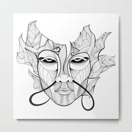 dontpanic Metal Print