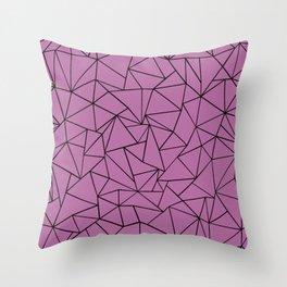 Ab Outline Bodacious Throw Pillow