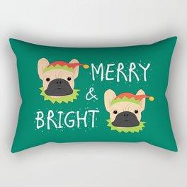 Merry And Bright! Rectangular Pillow
