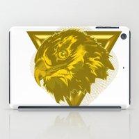 hawk iPad Cases featuring Hawk by Joe Baron