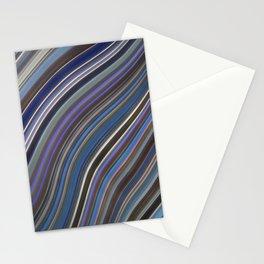 Mild Wavy Lines IV Stationery Cards