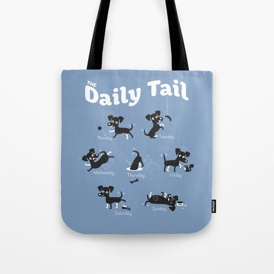 The Daily Tail Dog Tote Bag