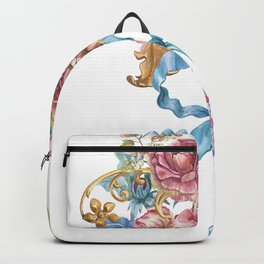 Collection of Baroque. Flower Arrangement 3 Backpack