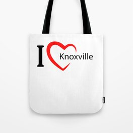 Knoxville. I love my favorite city. Tote Bag