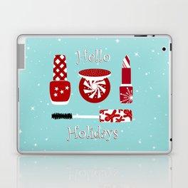 Super Cute Makeup Holiday Design Laptop & iPad Skin