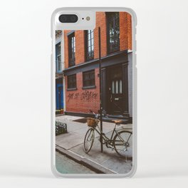 New York's West Village Clear iPhone Case
