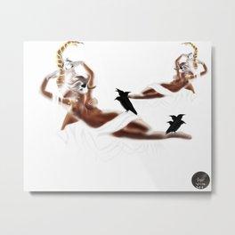 Theia [Digital Figure Illustration] Metal Print