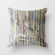 Lines 4 Throw Pillow