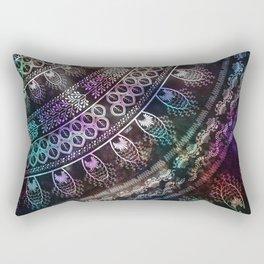 Galaxy Mandala Rectangular Pillow
