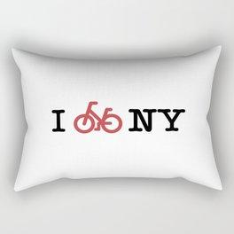 I bike NY Rectangular Pillow